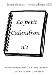 Lo petit Calandron