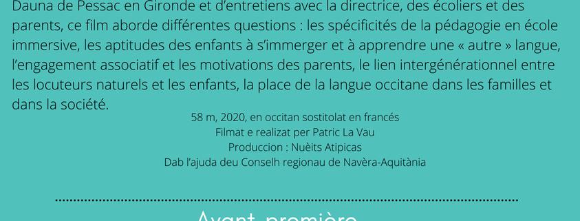 film L'escola en occitan